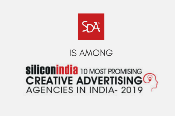 SDA amongst the 10 Most Promising Creative Advertising Agencies – 2019